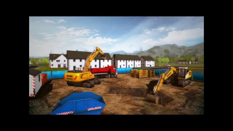 Обзор игры Construction Simulator 2015, Реалистичный симулятор строительной техники, Захватывает.