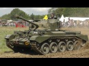 WW2 Comet Tank VICTOR at War Peace Revival 2014