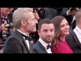 Virginie Ledoyen and Les Enrages cast on the Inside Out red carpet in Cannes