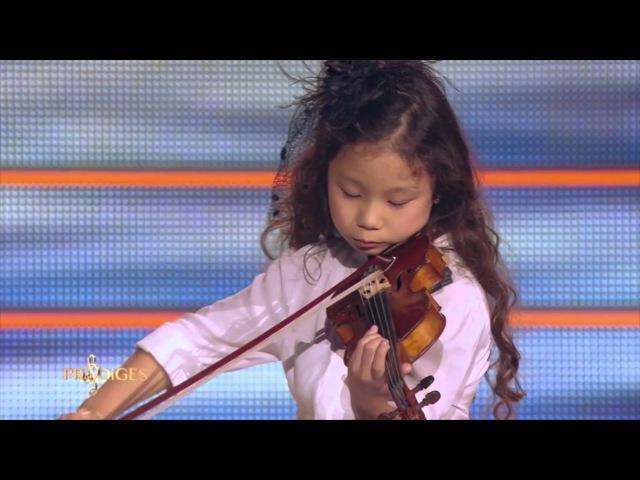 Miyu 7 ans, violoniste, joue L'Adagio d'Albinoni - Prodiges