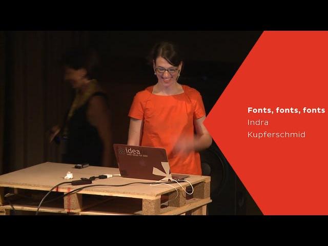 Kerning 2015 - Indra Kupferschmid - Fonts, fonts, fonts