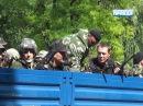 1 июня 2014. Донецк. Батальон Восток готовится к обороне Донецка