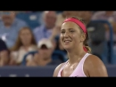 Vika Azarenka notches 5th straight win over Wozniacki 6-0, 6-4 CincyTennis