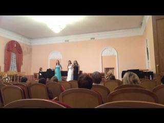 Три дамы. ОП. Волшебная флейта