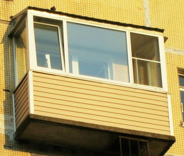 Пластиковые балконы с крышей. - мои статьи - каталог статей .
