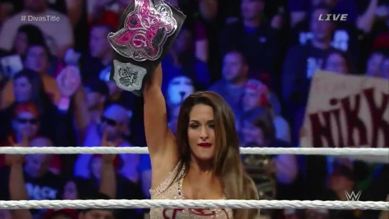 WWE TLC 2014 Nikki Bella (c) vs AJ Lee - match Divas Championship |❤Bella❤Twins❤|