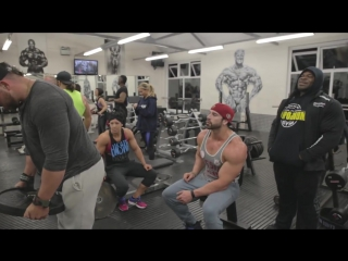 Bradley Martyn _ Dana Linn Bailey _ Kai Greene _ Rob Bailey _ SHOULDERS