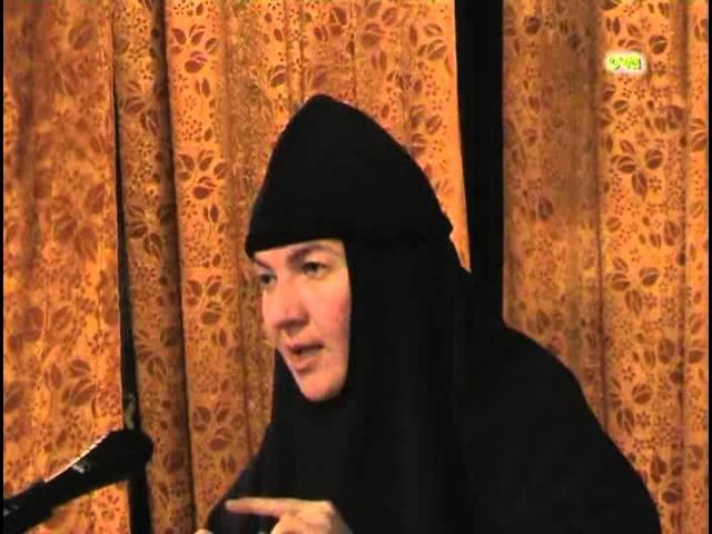 Монахиня Нина Тепло домашнего очага Беседа 9 Беседа с людьми, страдающими от ал...