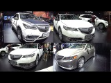 2016, 2017 Acura model Sedans VS SUVs: RDX, MDX, NSX, RLX, TLX, ILX