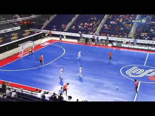 CARLOS BARBOSA vs DYNAMO. Intercontinental Futsal Cup.Final. 30/06/2013