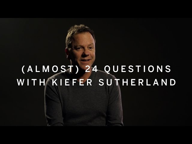 (ALMOST) 24 QUESTIONS WITH KIEFER SUTHERLAND | Canada's Top Ten Film Festival