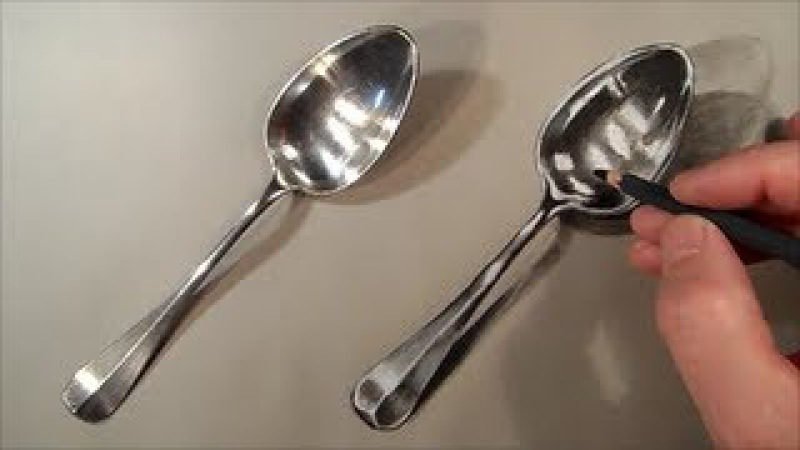 Realism Challenge 1 How to Draw Spoon Cool Realistic Drawing