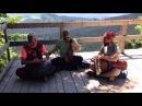OMana Handpan violin djembe Carpathians improvisation