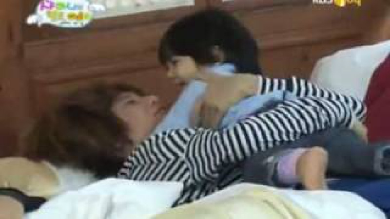 [ENG] Yoogeun calling Shinee Appa wake up part 1/2 100202