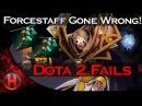 Dota 2 Fails Forcestaff Gone Wrong
