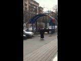 Москва - Возле метро мусульманка с отрезанной головой ребенка угрожала подорвать себя(29.02.16)