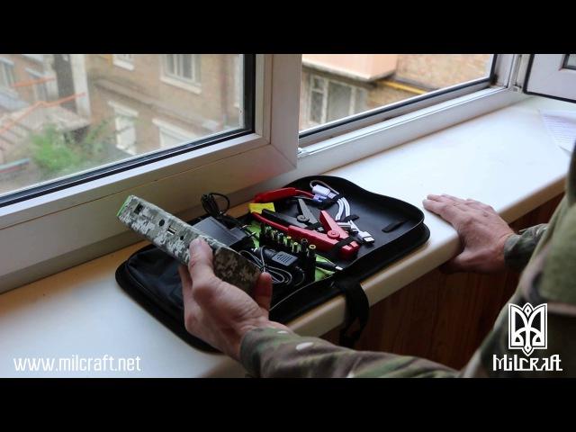 Обзор пуско-зарядного устройства / портативного источника питания Milcraft D28