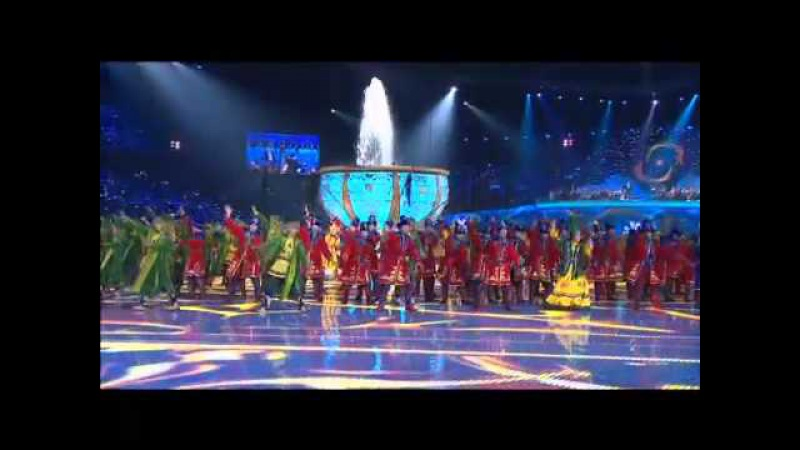 Best moments of the 2011 Winter Asian Games Opening Ceremony (Astana, Kazakhstan)