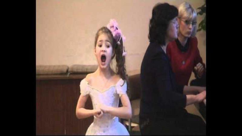 Вероника Андрейченко (8 лет) Кукла Л. Делиб