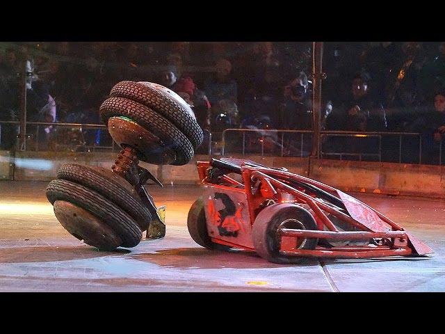 Бронебот 2016, настоящие бои роботов в Олимпийском! Это стоит видеть!