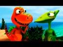 Мультик Поезд Динозавров, самый интересный мультфильм про динозавров, серия 3 Борьба с жаждой