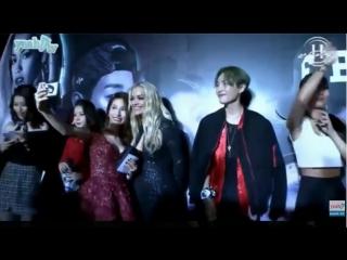 Rita Ora, Lucky J, Chi pu, Ngọc Thảo, Cường Seven, Bảo Kun trước giờ H-Artistry 2015