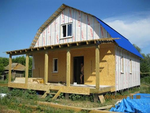 ДОМ - Строительство каркасных домов в
