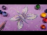 Техника Пуантилизм | Рисуем Бабочку