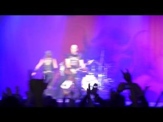 Выступление группы ACCEPT в клубе А2 вечером 27 ноября 2015 года.