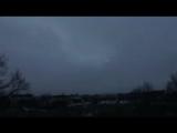 интересное явление в Германии..видео было снято 1 февраля в Нюрнберге во время шторма,...виден кружащийся свет появившейся на 00