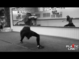PLASTIC LINE. Dancer Nadtochey Tatiana. Twerk.