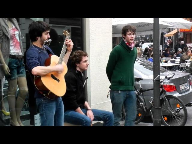 Annenmaykantereit, damals noch Straßenmusiker