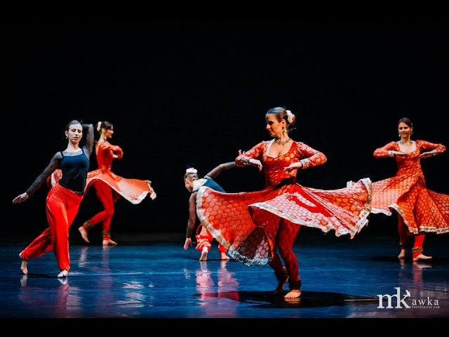 Jugal Bandi - contemporary kathak choreography by Kinga Malec