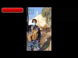 Сирия Снайпер снял боевика Игил точным выстрелом в голову