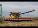 New Holland CR9.90 | BIG CORN Harvest in 16 ROWS in FRANCE !
