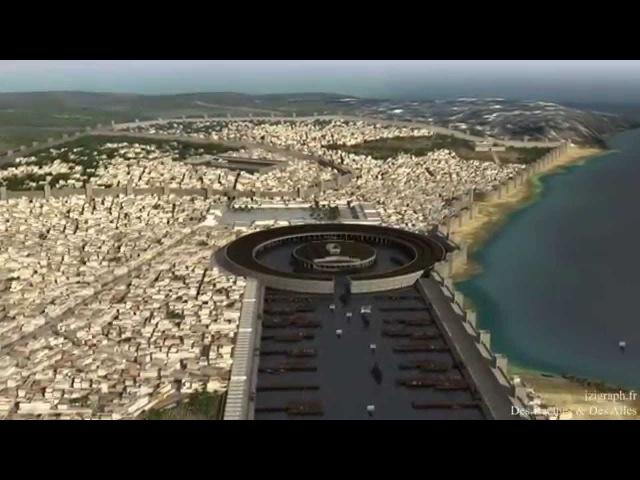 Tunisie Antique 3D
