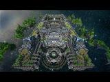 Minecraft Mega-Build Center Of Valhalla