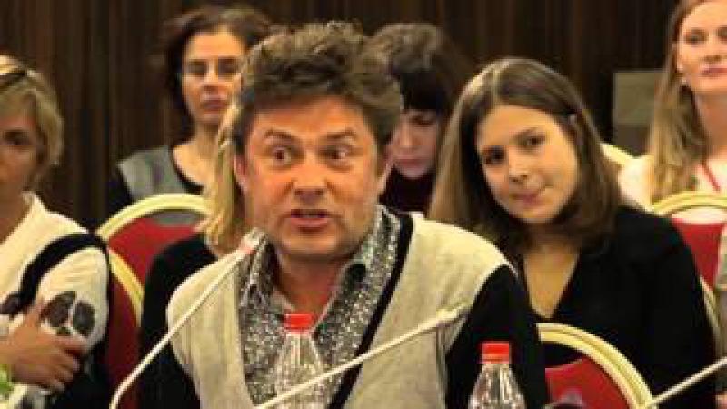 Сергей Белоголовцев на круглом столе Не молчи на IV Международном Форуме фонда