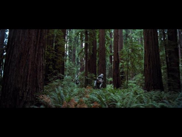 Star Wars Episode VI: Return of the Jedi - Speeder Bike Chase - HD 1080p