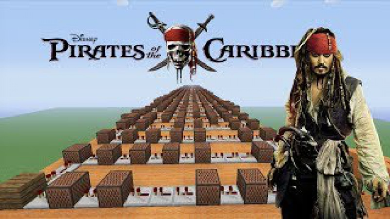 Pirates Of The Caribbean He's A Pirate Minecraft Xbox NoteBlock Song