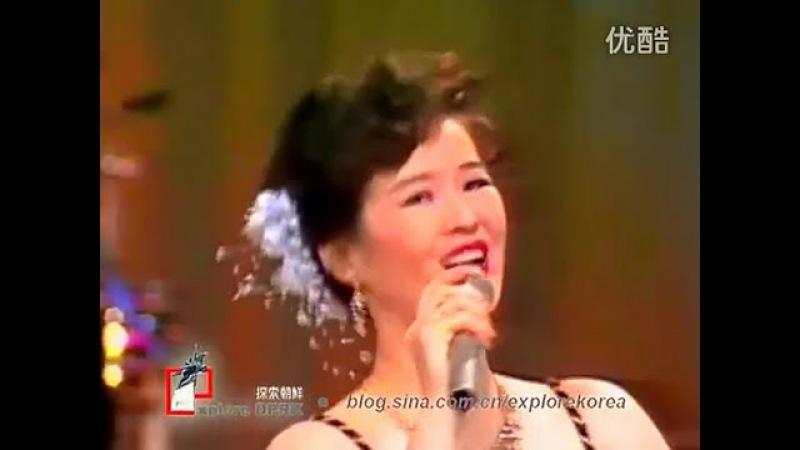 Смуглянка 스무글랸까 исполняет Почхонбо 보천보전자악단