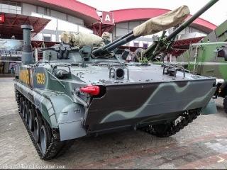 Оружие России.  Чудо амфибия БМП - 3Ф