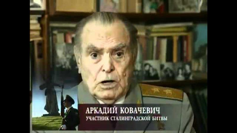 Мы были простыми смертными Сталинградская битва