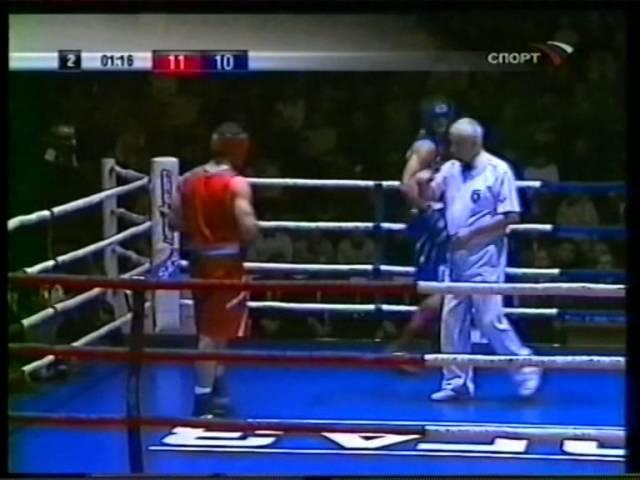 Роман Романчук-Рахим Чахкиев.Чемпионат России 2004 финал.Roman Romanchyk vs Rakhim Chakhkiev