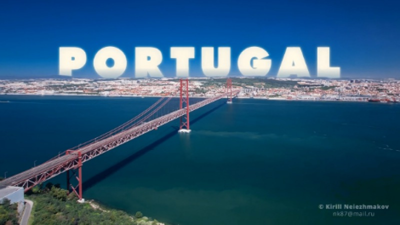 Португалия (Лиссабон и Сезимбра) TimelapseHyperlapse