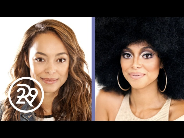 Amber Stevens-West is Transformed into Diana Ross by Make-up Artist Raja | Refinery29 | Refinery29