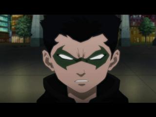 Сник Пик Лига Справедливости против Юных Титанов (A Sneak Peek at Justice League vs. Teen Titans)