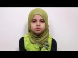 Maryam Masud Laam is reciting Surah Al-Mursalat
