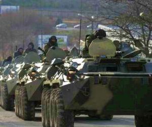 Режим Порошенко стягивает солдат и бронетехнику к границе Приднестровья