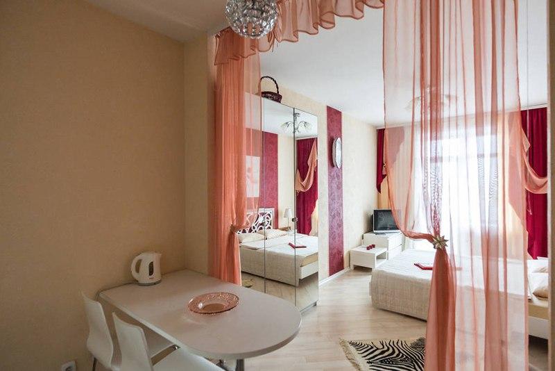 Интерьер квартиры 30 м в Санкт-Петербурге.
